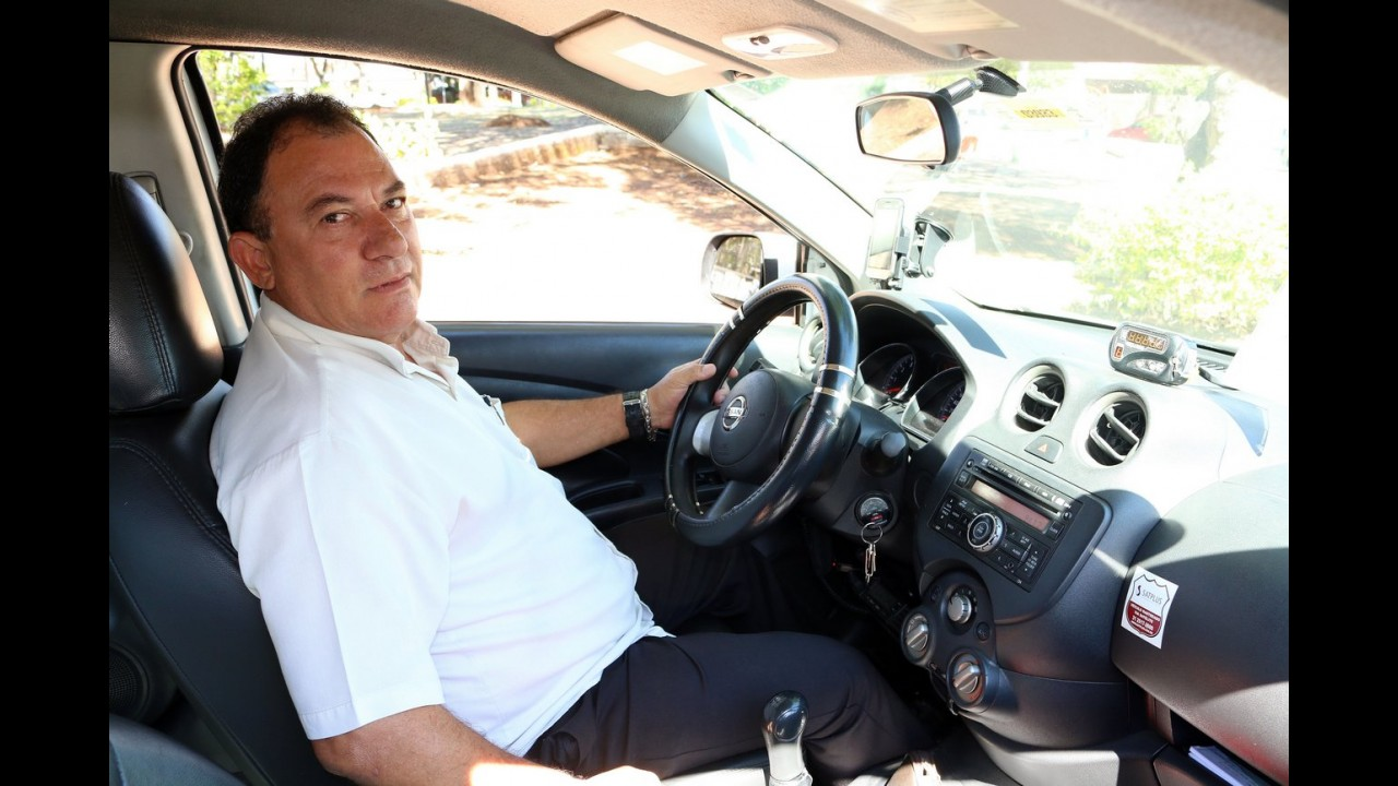 Nissan Versa de taxista mineiro roda 358.000 km sem apresentar defeitos