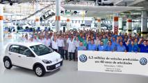 Fábrica do up!, Gol e Voyage, unidade de Taubaté comemora 6,5 milhões de carros produzidos