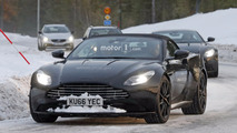 2018 Aston Martin DB11 Volante spy photo