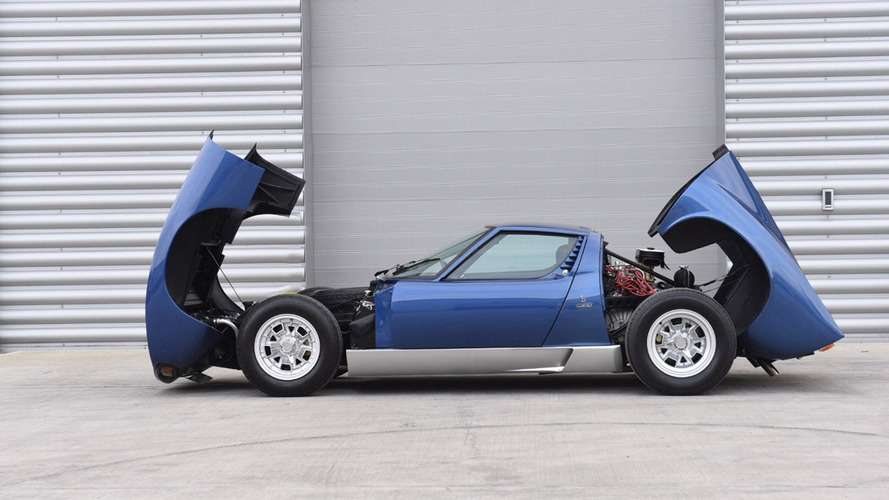 Ex-Rod Stewart Lamborghini Miura could fetch $1.46M at auction