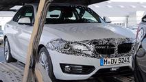BMW 2 Series Refresh Spy Photos