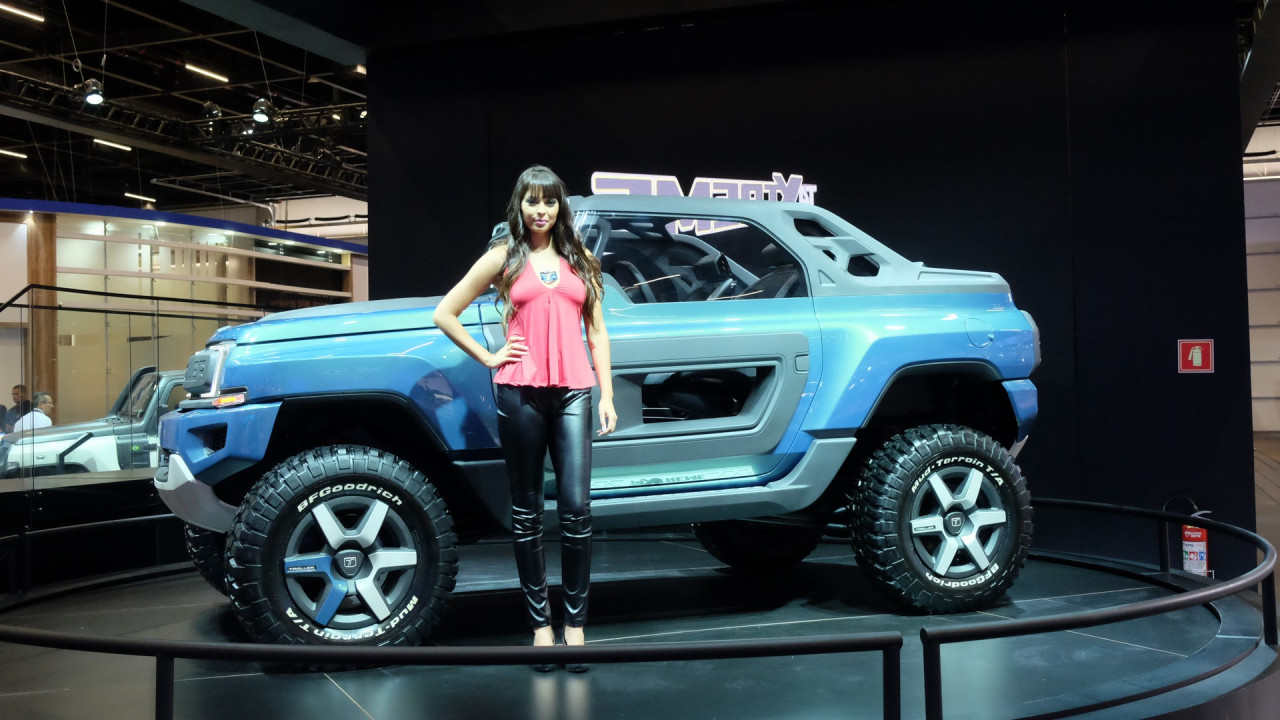 Ford T4 Troller >> Brazil's Troller T4 Xtreme concept envisions possible future Bronco
