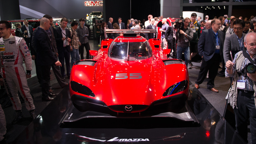 Mazda RT24-P Prototype races into the Los Angeles Auto Show