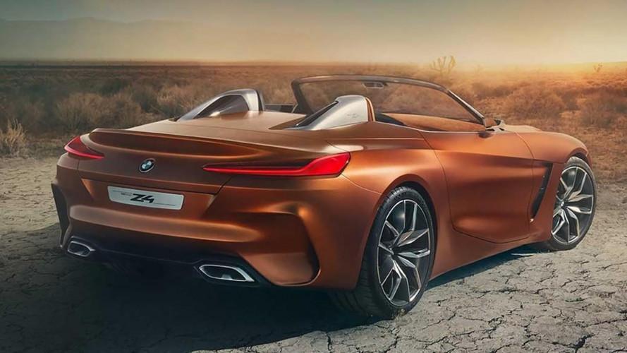 BMW Z4 Concept, online le prime foto