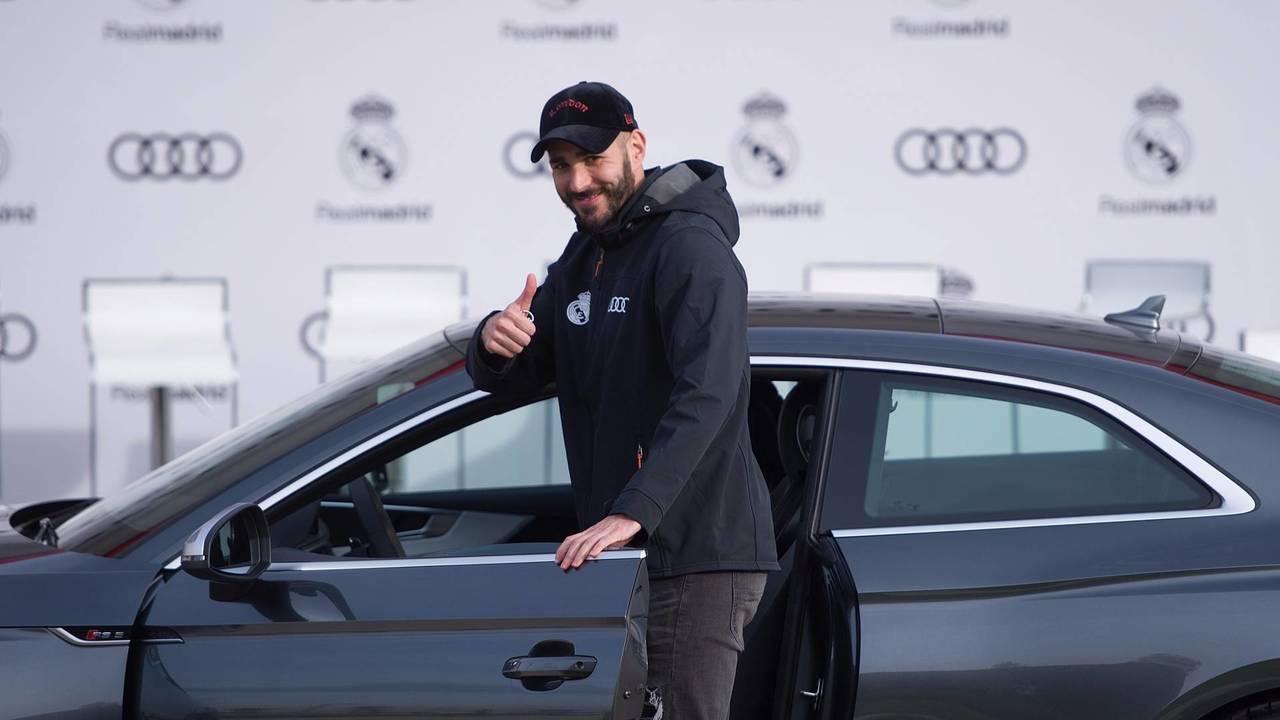 Karim Benzema (#9) - Audi RS 5 Coupé