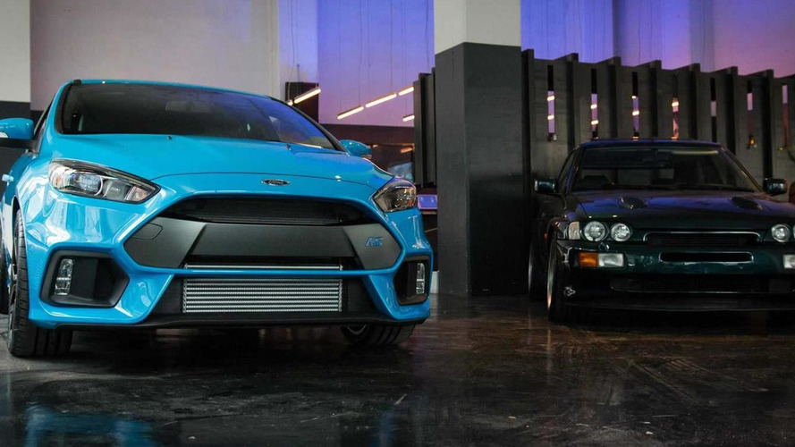2016 Ford Focus RS US-spec photographed and filmed in the metal alongside 1996 Escort RS Cosworth