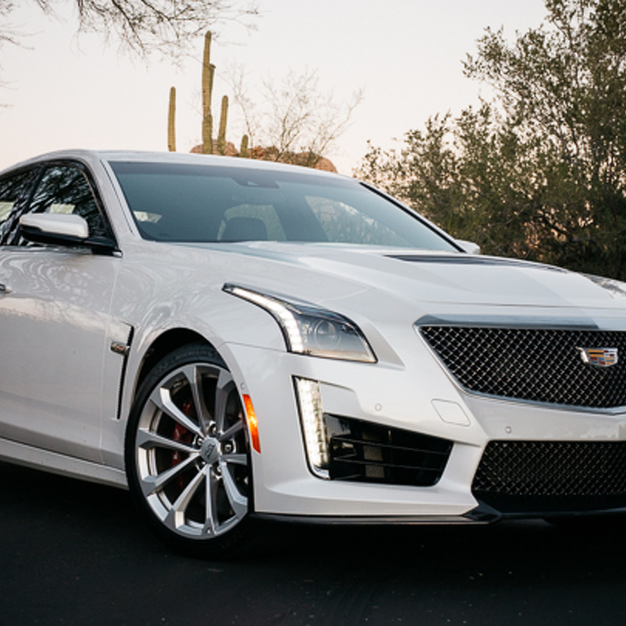 2016 Cadillac CTS-V Review: A visceral car, an emotional car