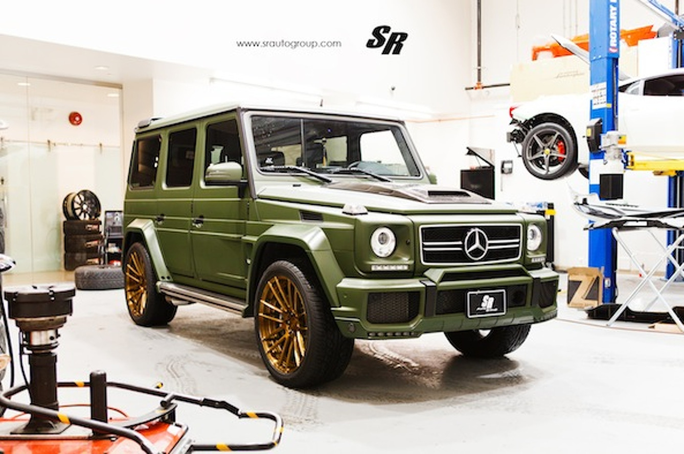 SR Auto Group Brabus Mercedes G63: Mean, Green, and Ready for Anything