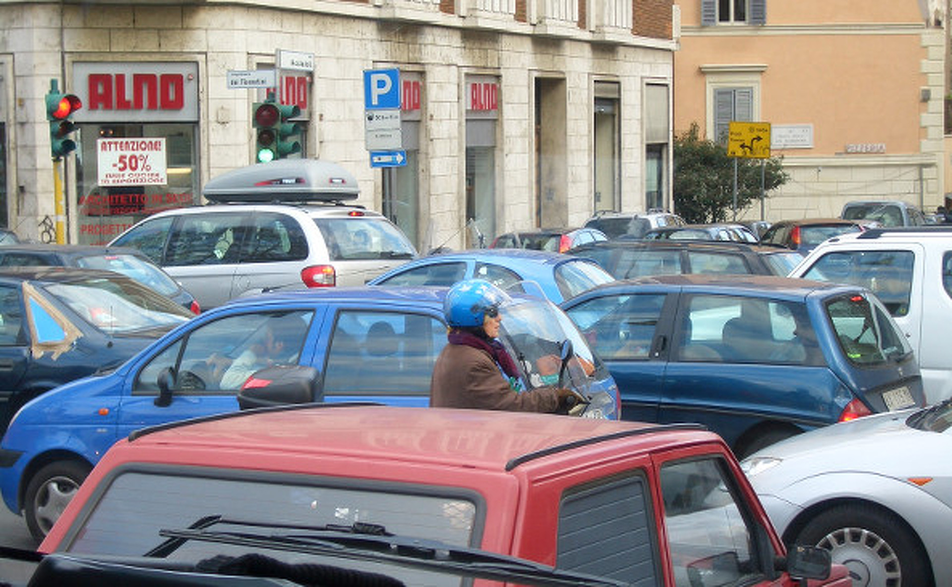 What is 'Feral Parking'? Apparently one of Rome's Biggest Problems