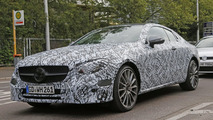 Mercedes-Benz E-Class Coupe spy photo