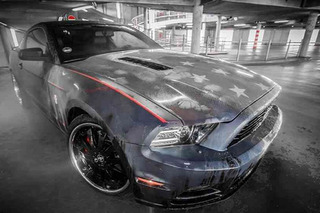 Patriotic Pony: Color-Changing Ford Mustang Shows Its True Colors
