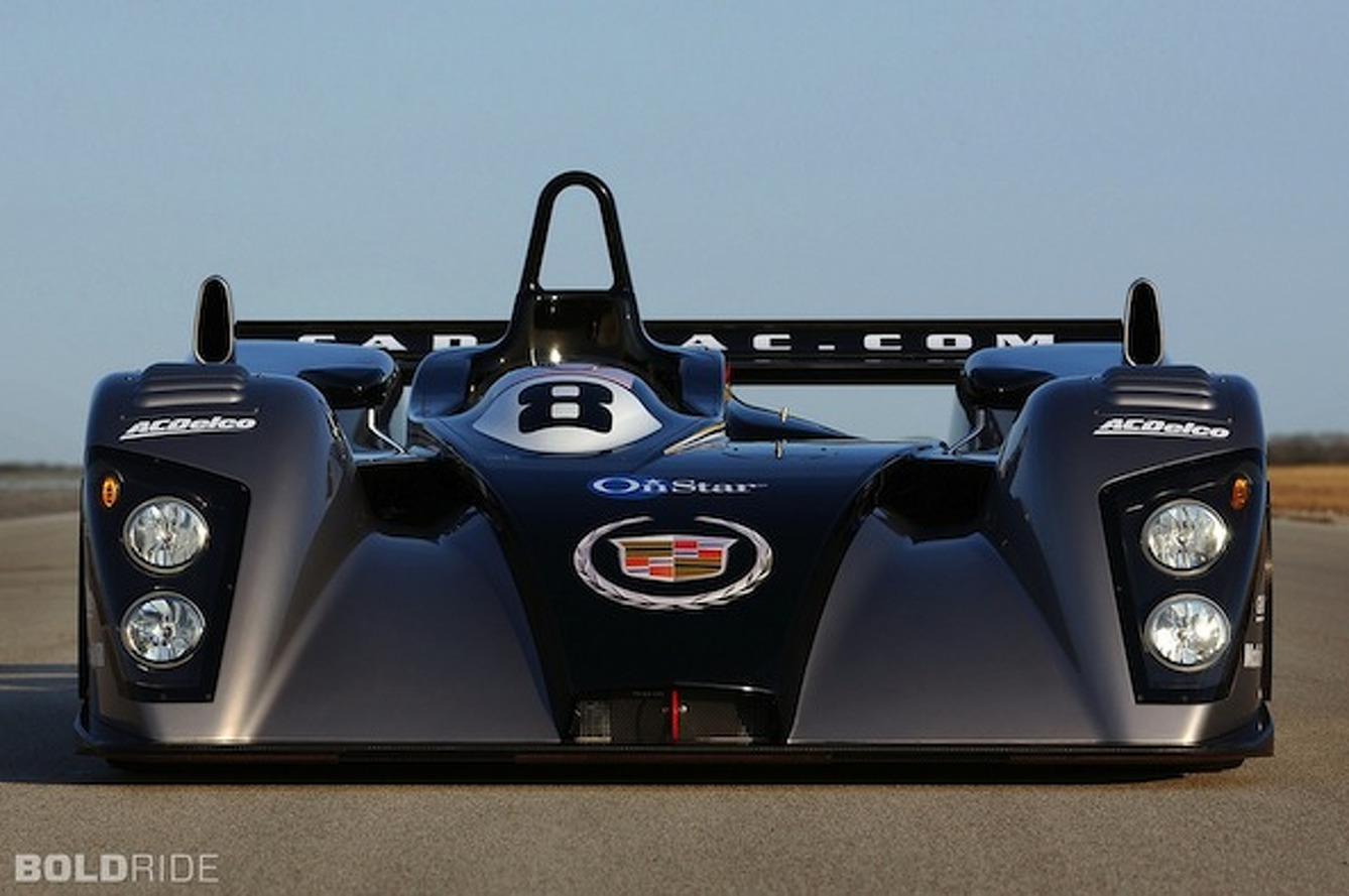 Wheels Wallpaper: Cadillac LMP-02 Le Mans