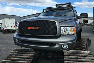 You Can Buy the Sno-Cat Dodge Ram from 'Diesel Brothers'