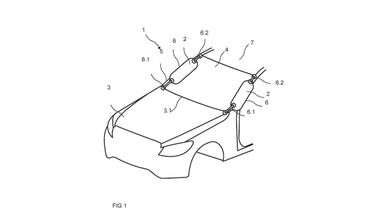 Mercedes-Benz A-Pillar Airbag