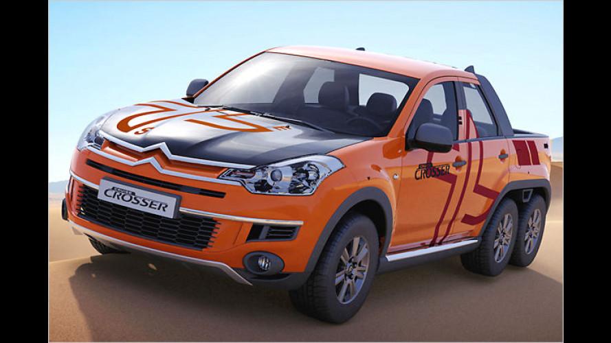 Citroën Cruise Crosser: Concept-Car mit drei Achsen