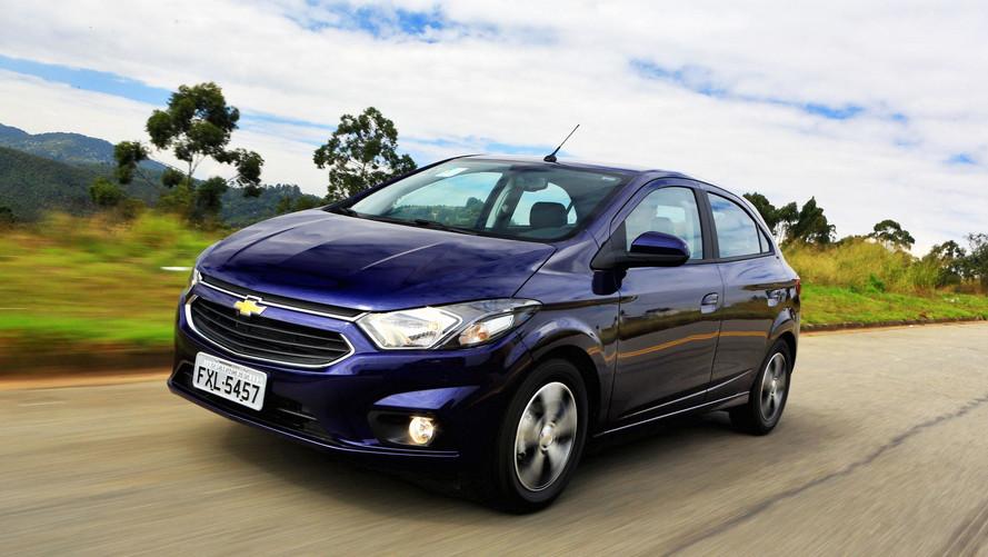 Chevrolet Onix foi o carro mais financiado do Brasil em 2017