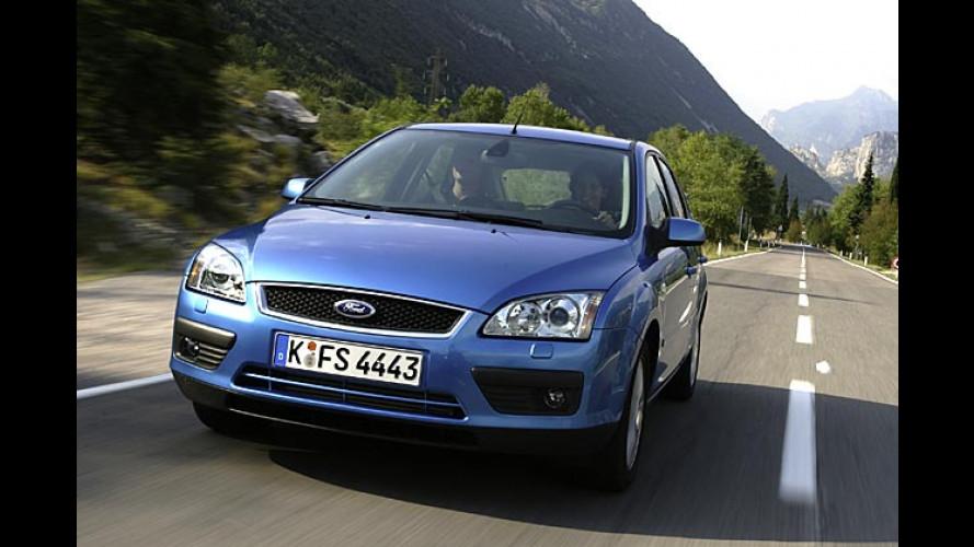 AMI-Weltpremiere: Seriennaher Ford Focus mit Erdgasantrieb