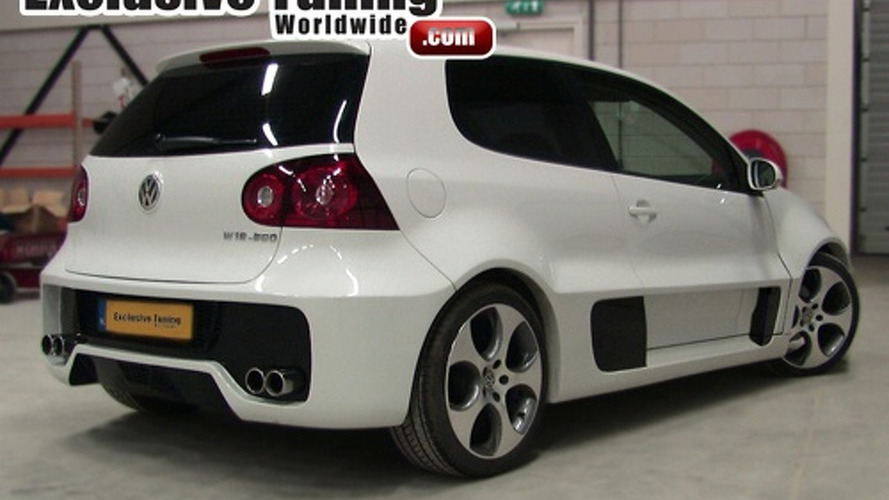 VW Golf W12 Concept Body Conversion for Golf V - Good or Bad? Vote Here!