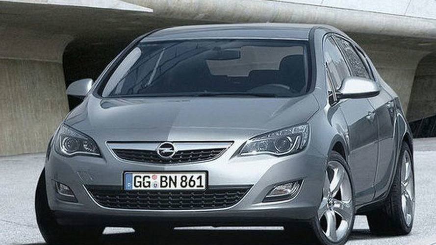 2010 Opel Astra Unofficially Revealed