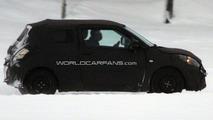 2011 Suzuki Swift 3-Door first spy photos, Sweden, 22.01.2010
