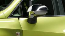 Seat Ibiza chrome side mirror caps