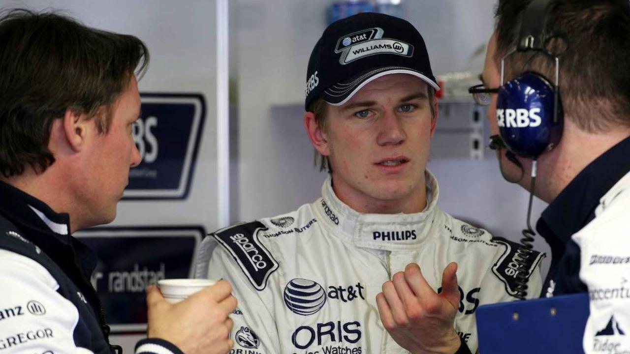 Sam Michael (AUS), WilliamsF1 Team, Technical director, Nico Hulkenberg (GER), Williams F1 Team - Formula 1 Testing, 20.02.2010, Jerez, Spain