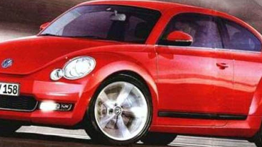 Second Generation VW New Beetle to be Launched in 2011