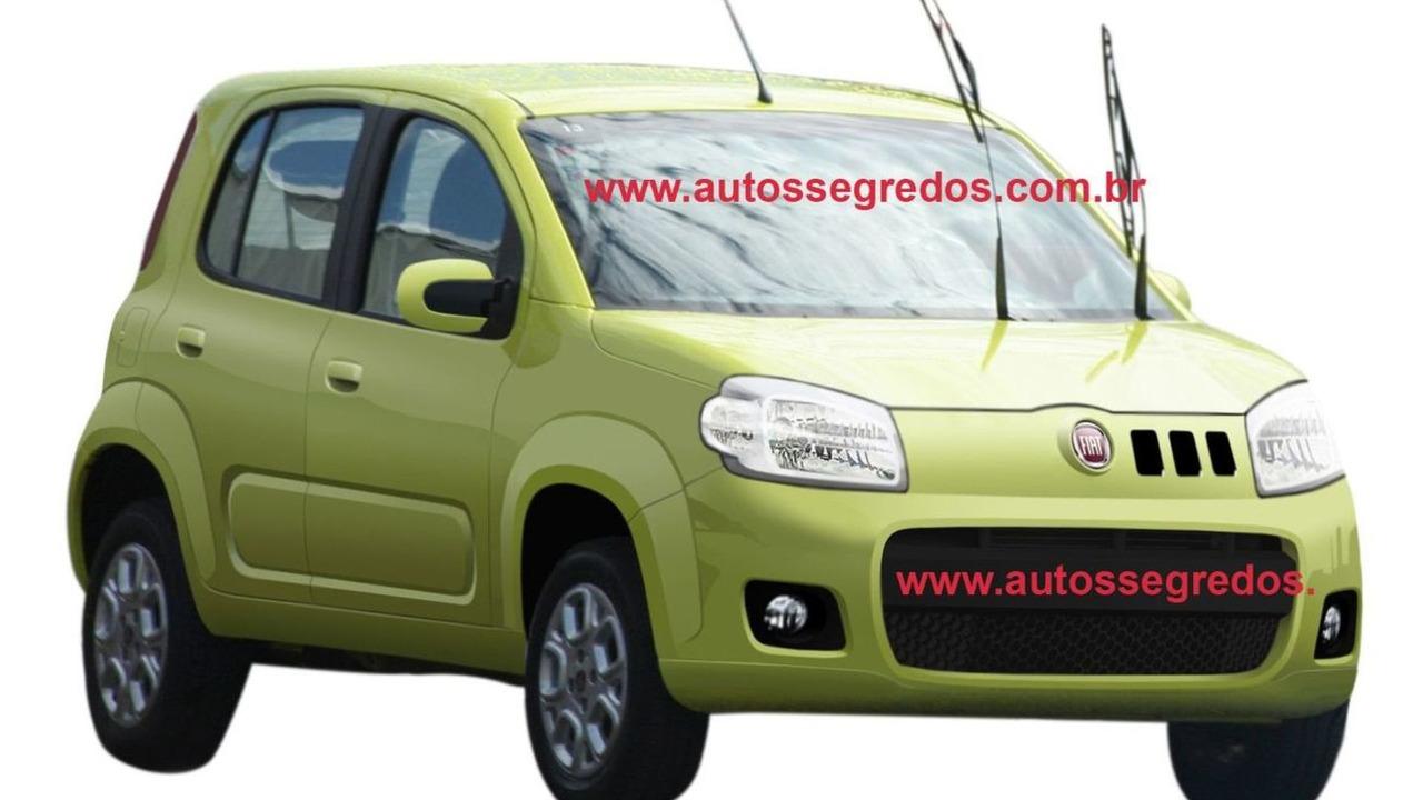 2011 Fiat Uno revival spy photo in Brazil - 1600 - 06.04.2010
