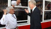 Bernie Ecclestone (GBR) and Max Mosley (GBR), FIA President - Formula 1 World Championship, Rd 6, Monaco Grand Prix, 23.05.2009 Monte Carlo, Monaco
