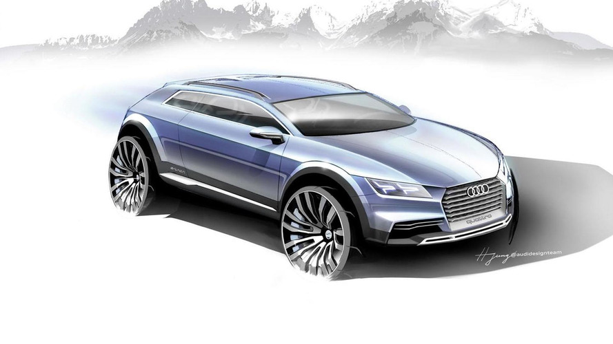 Audi teases a new crossover coupe concept for Detroit