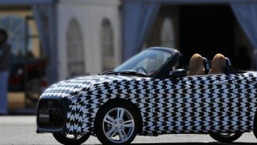 2015 Daihatsu Copen teased, will have a customizable body