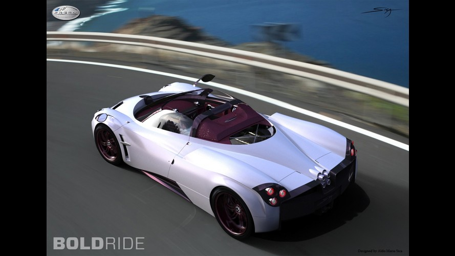 Pagani Huayra Roadster Concept by Aldo Maria Sica