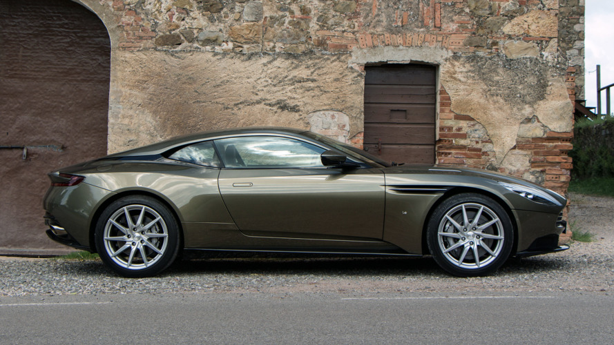 Aston Martin DB11 V8 Debut Is Less Than A Month Away