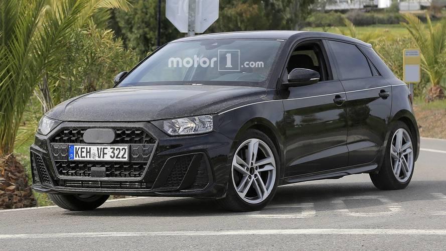 Observa al Audi A1 2018 casi sin camuflaje