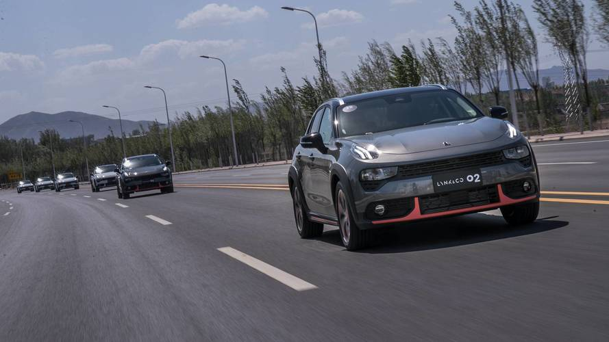 Lynk & Co 02 first drive