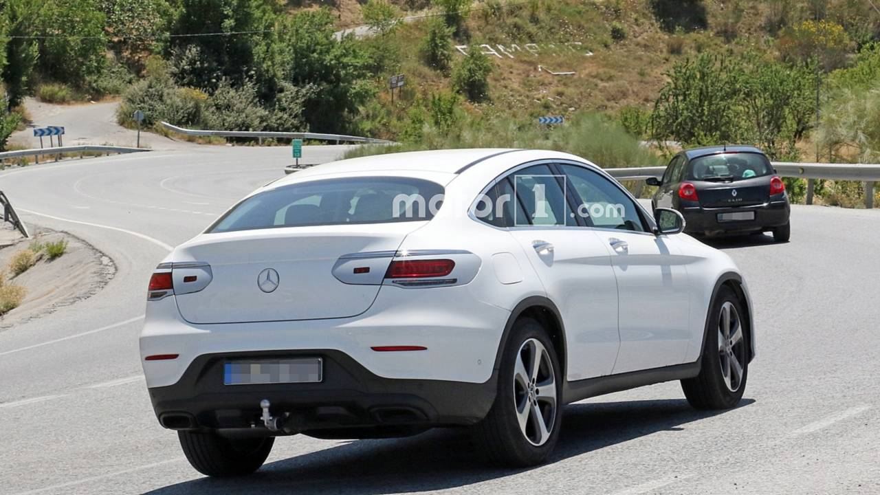 2019 Mercedes-Benz GLC Coupe casus fotoğraflar