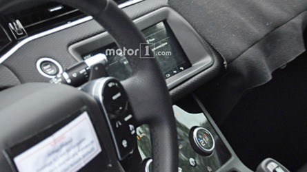 New Range Rover Evoque Flaunts Its Tech-Focused Cabin In Spy Shots