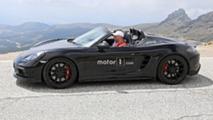2018 Porsche 718 Boxster Spyder Casus Fotoğraflar