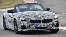 BMW Z4 2018: primeras fotos oficiales (con camuflaje)