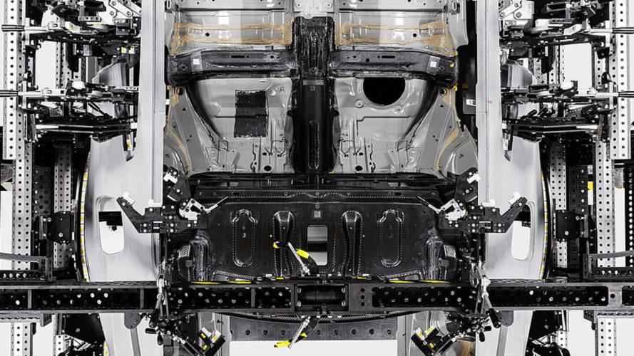 Polestar 1 carbon fiber construction