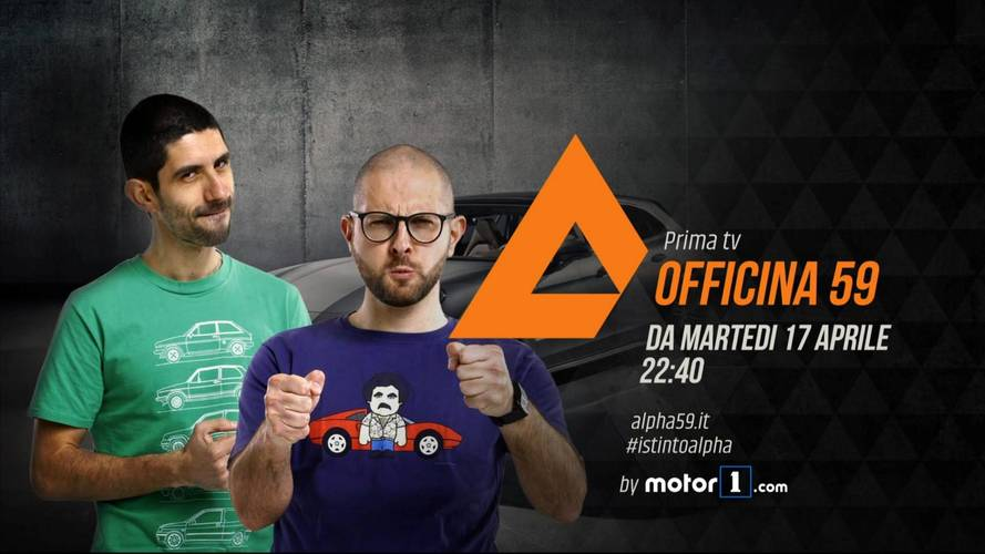 Officina 59 by Motor1.com, stasera su Alpha, canale 59 DTT