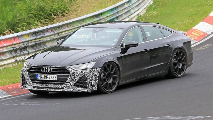 Yeni Audi RS7 Sportback Nürburgring'de görüntülendi