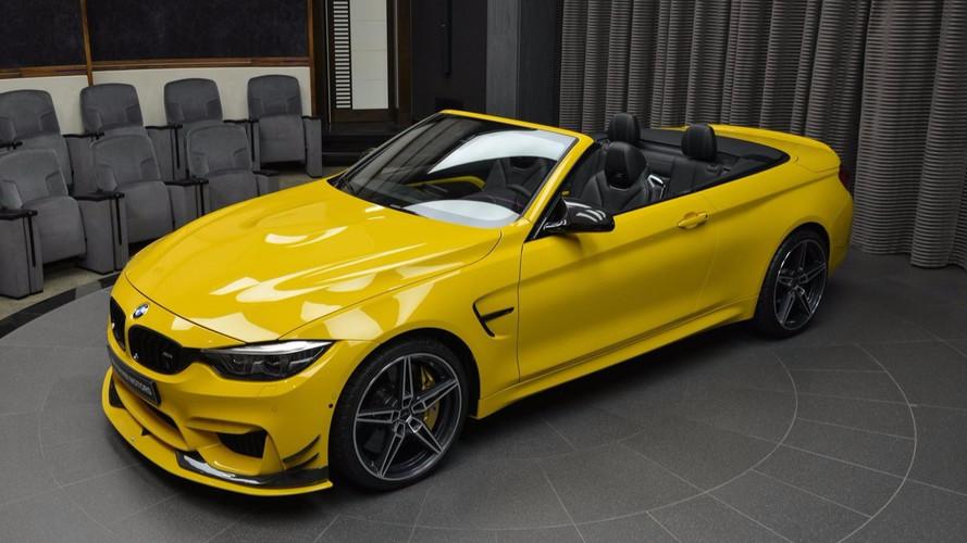BMW M4 Cabriolet jaune par AC Schnitzer