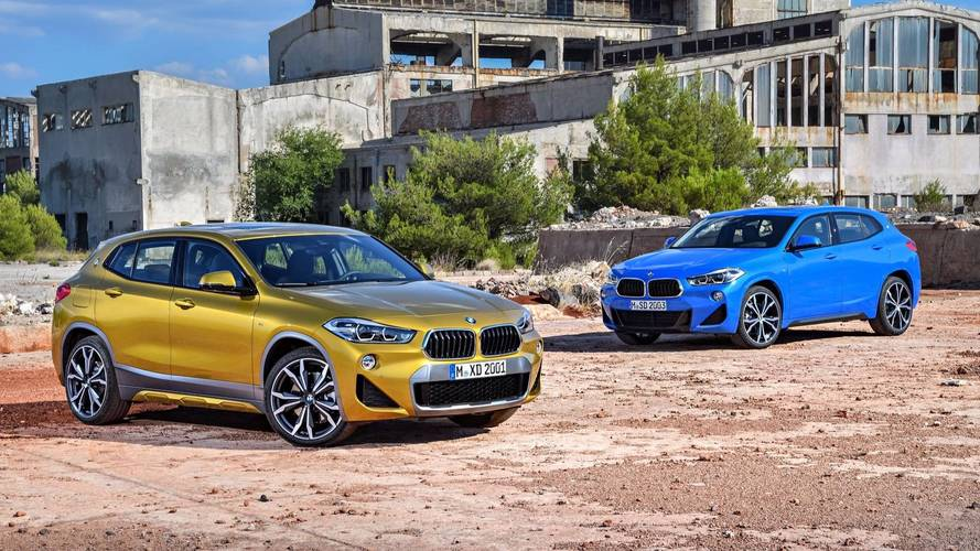 BMW X2 Unveiled With A Mix Of Style And Substance