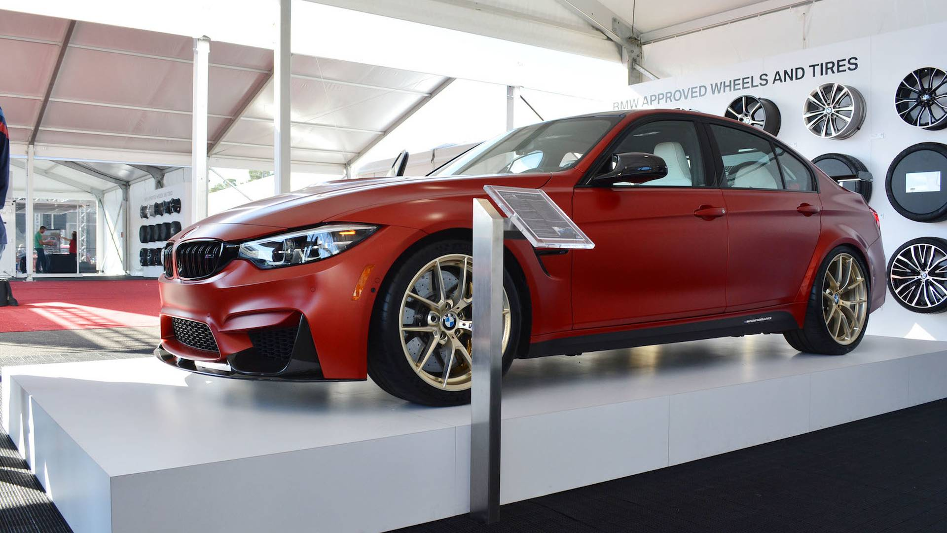 BMW M3 30 Years American Edition Gets Red, White, Blue ...