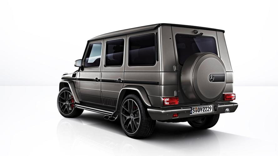 Mercedes-AMG G 63 ve Mercedes-AMG G 65: Exclusive Edition