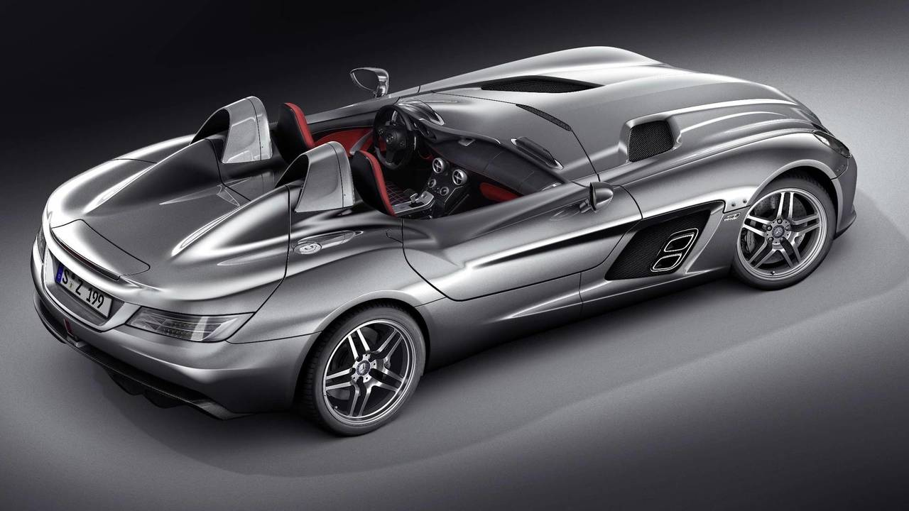 5. Mercedes McLaren SLR Stirling Moss – 355 km/h