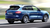 2011 Porsche Cayenne Artists Rendering
