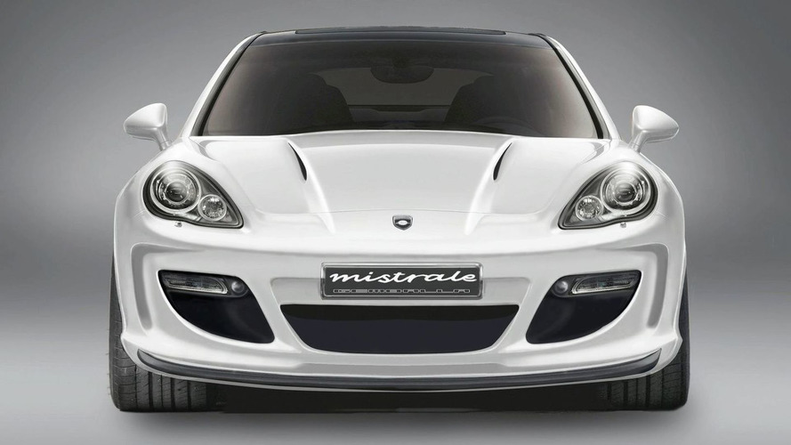 Gemballa Mistrale Panamera first details released - up to 750hp