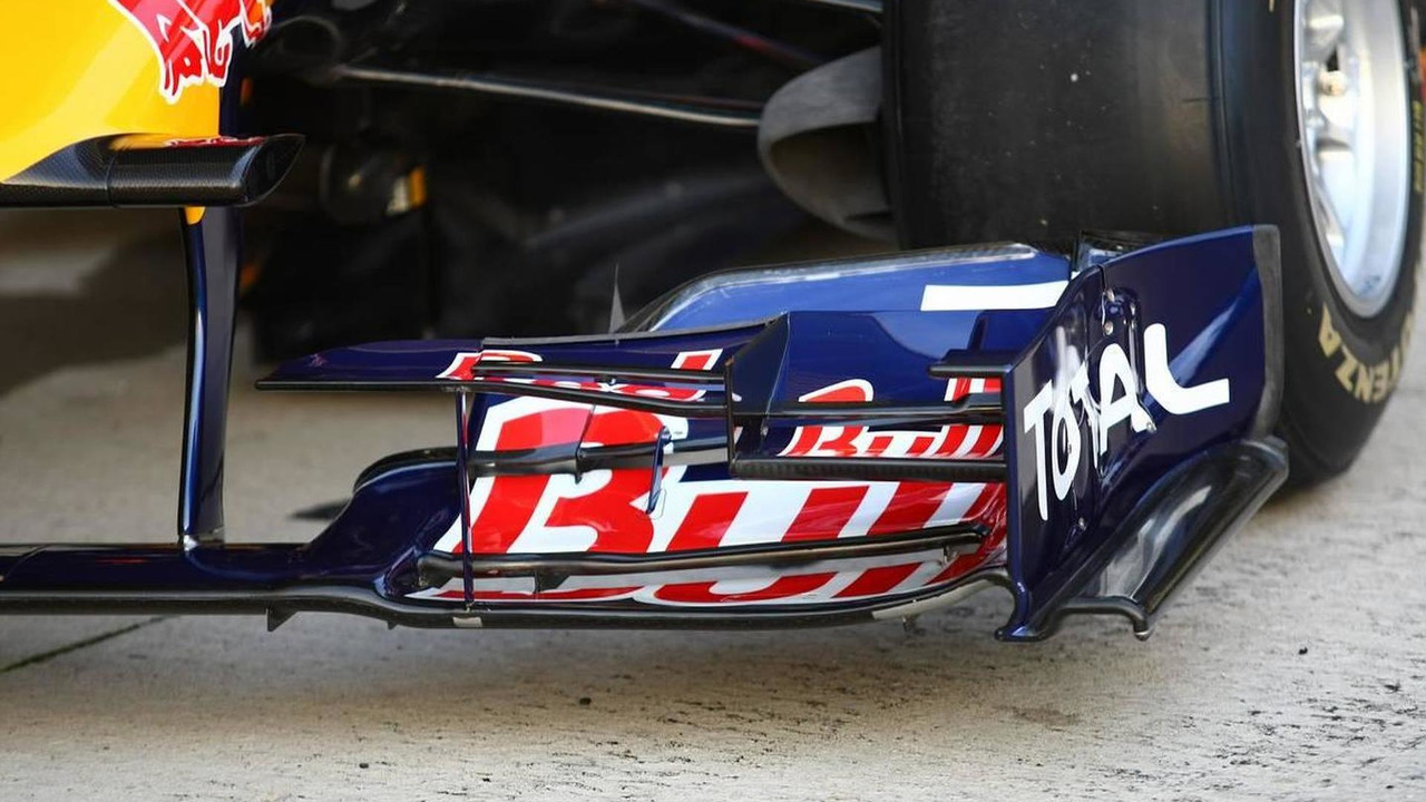 Red Bull RB6, front wing - Red Bull RB6 Launch, Formula 1 Testing, 10.02.2010 Jerez, Spain